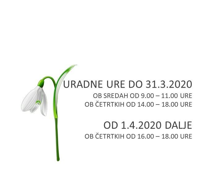 VABILO K VPISU ČLANARINE za leto 2020